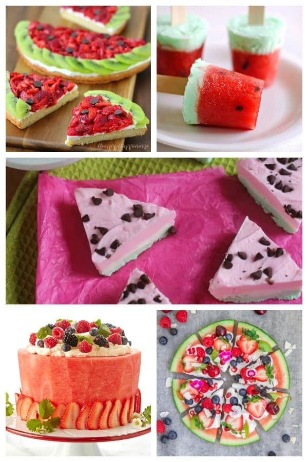 Recipes for summer desserts with these delicious watermelon flavoured treats.