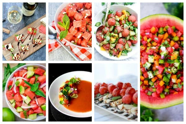 Take the fruit out of dessert and add it to sides and salads with these delicious watermelon recipes for summer feasts