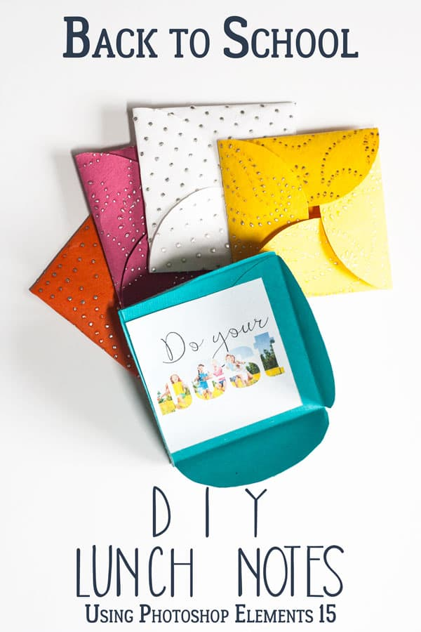 Personalised Lunch Box Notes for you to Create