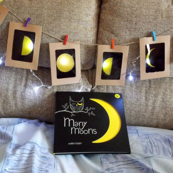 Phases of the Moon Craft for Kids