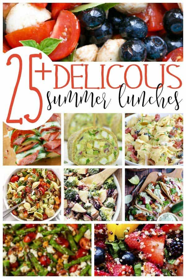 Great Recipes for Summer Lunches