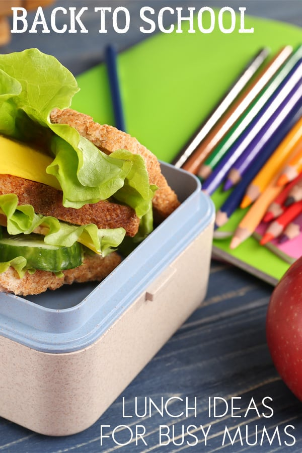 Make sure that your kids don't get hungry this school year with these delicious back to school lunch box ideas that you can prepare ahead of time. Perfect for busy mums to make.