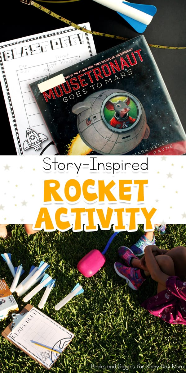 Using a Stomp rocket design, and conduct a STEM investigation into the factors that make it go higher and further. A simple STEM Space Investigation.