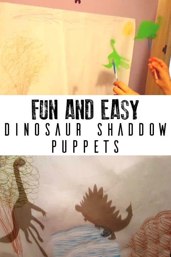 Create your own dinosaur shadow puppets to retell some of your favourite dinosaur stories or act out epic dinosaur battles.
