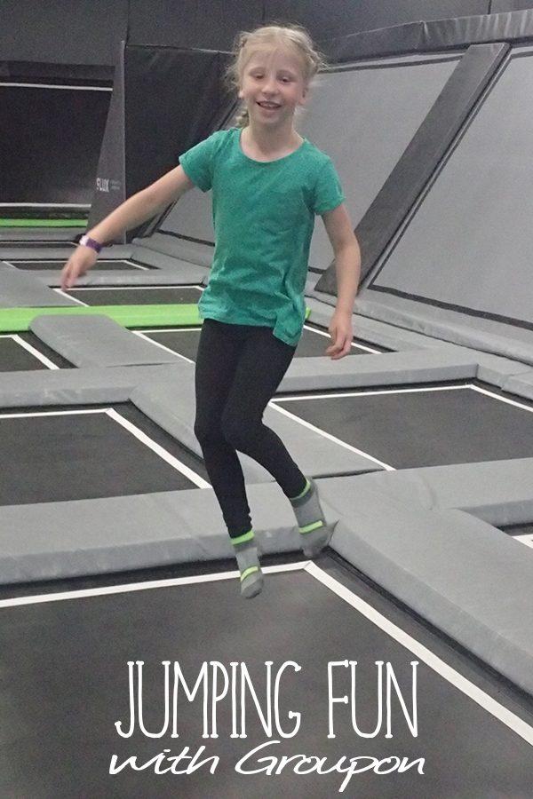 Jumping Fun with Groupon
