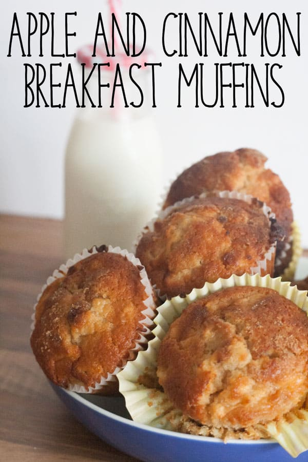 Apple and Cinnamon Breakfast Muffins
