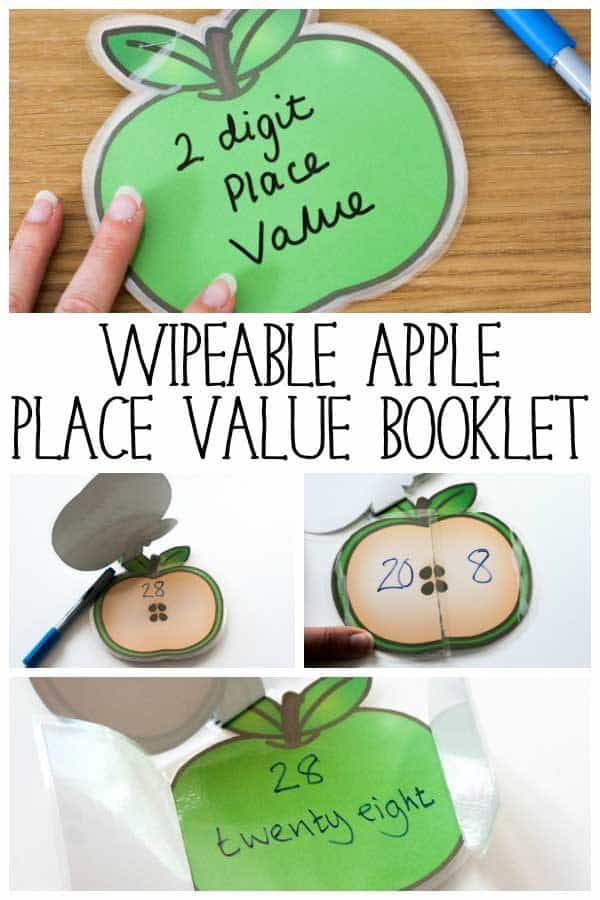 Apple Place Value Booklet