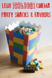 Get ready for the latest release from Lego at the movies with these easy party favours and Cinema Snacks that the kids will enjoy.
