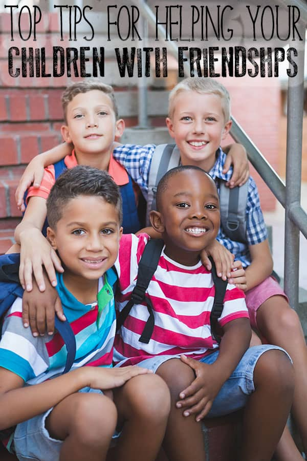 Top Tips for Parents to Help Children with Friendships