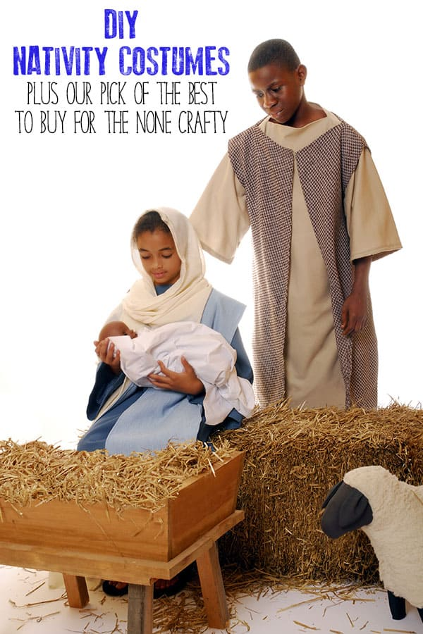 The best nativity costumes to make or buy for this years nativity show best nativity costumes to diy or buy for children with ideas for all the characters solutioingenieria Images