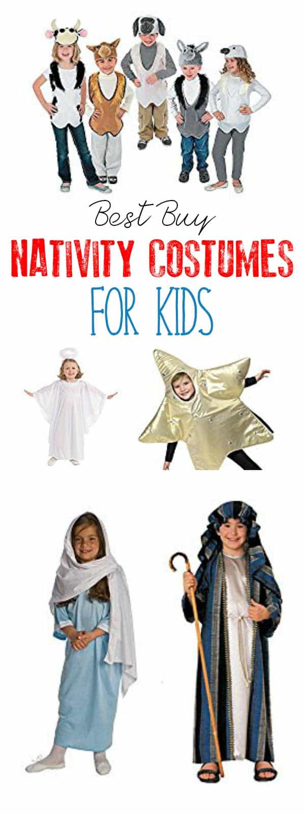 The best nativity costumes to make or buy for this years nativity best nativity costumes to diy or buy for children with ideas for all the characters solutioingenieria Choice Image