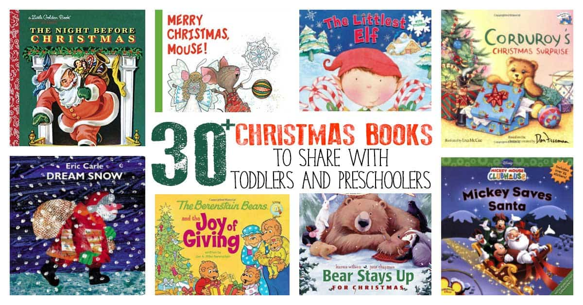 christmas books to share with toddlers and preschoolers