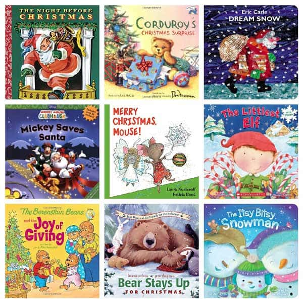 carefully chosen christmas books ideal to share with toddlers and preschoolers at home or in your