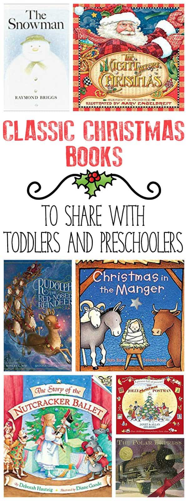carefully chosen christmas books ideal to share with toddlers and preschoolers at home or in your - Christmas Story For Toddlers