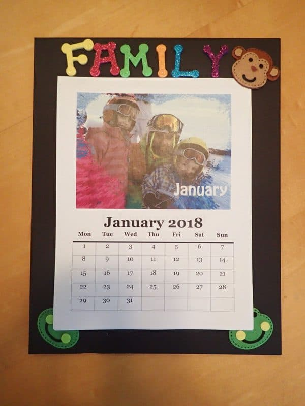 Diy Family Photo Display Click On Image To See More Home: DIY Family Photo Calendar