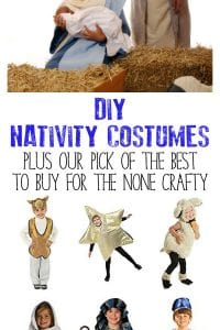 Best Nativity costumes to DIY or buy for Children. With ideas for all the characters, these are easy DIY's to anyone can make for the Nativity Show.
