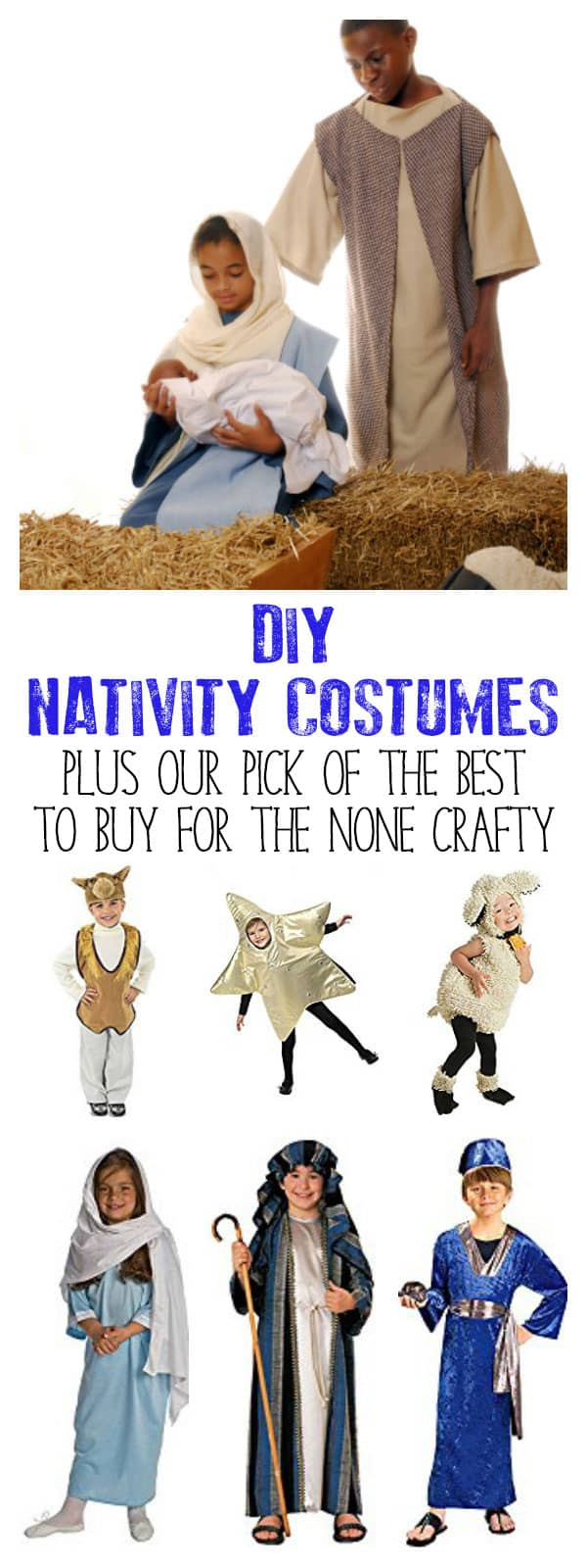The best nativity costumes to make or buy for this years nativity show best nativity costumes to diy or buy for children with ideas for all the characters solutioingenieria Image collections