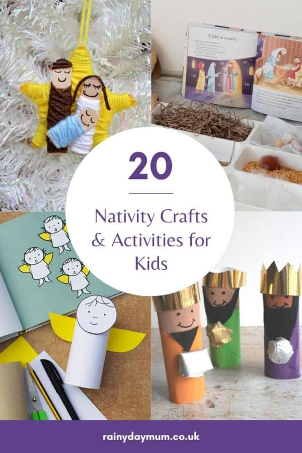 20 NativitY Crafts and Activities for Kids