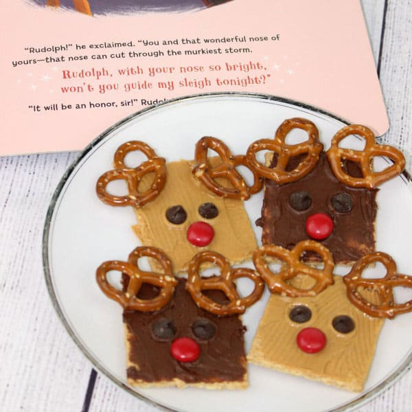 Easy No Cook Rudolph Christmas Snacks For Kids