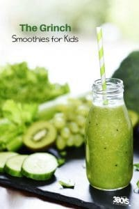 The Grinch Smoothies for Kids