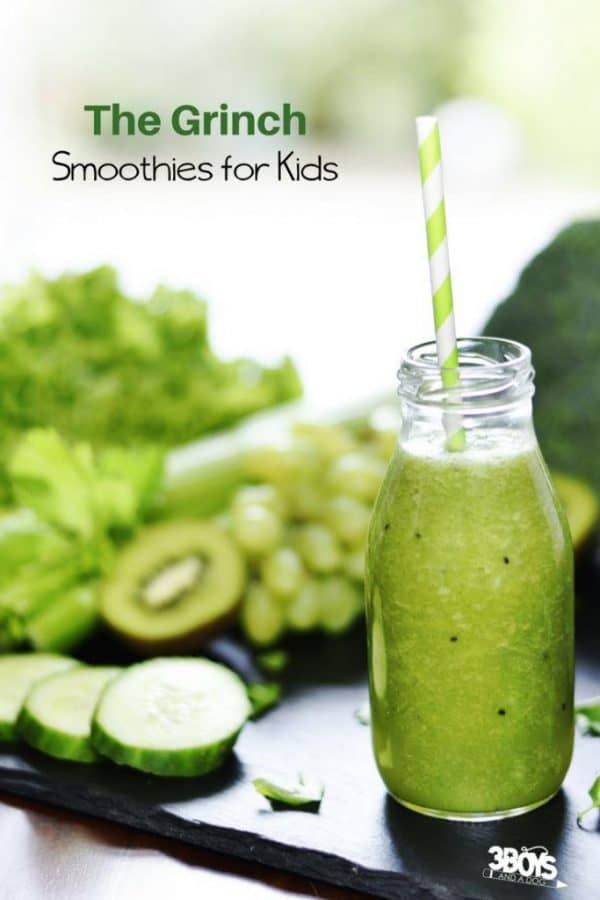 The Grinch Smoothie Recipe for Kids