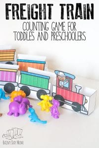 Freight Train Counting Game