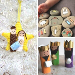 nativity story crafts and activities for kids on rainy day mum