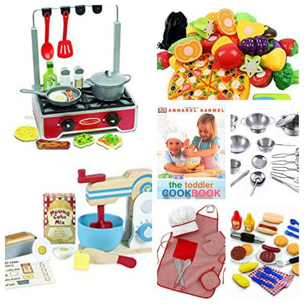 Encourage your toddlers love of cooking with these mess free cooking toys perfect for your little budding chefs to cook up a tea time treat for a pretend tea party.