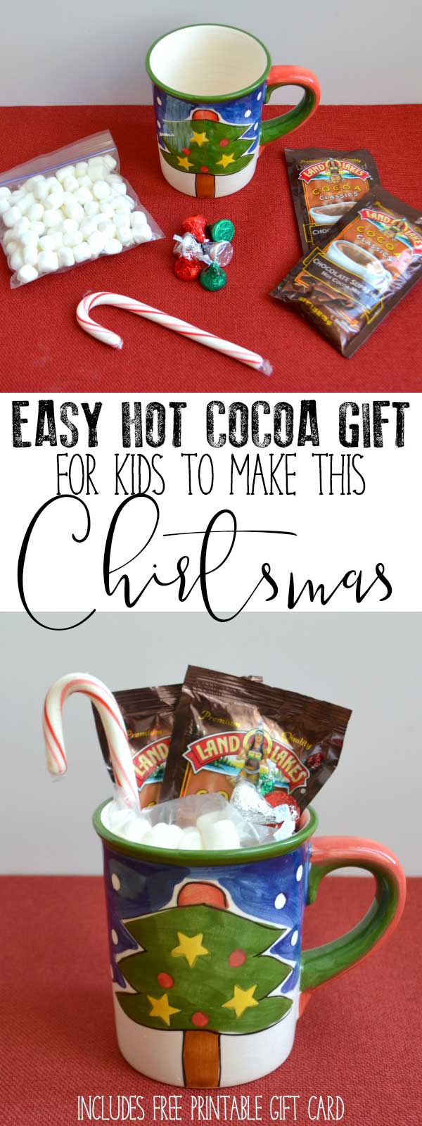 Easy Hot Cocoa Gift Inspired by The Jolly Christmas Postman