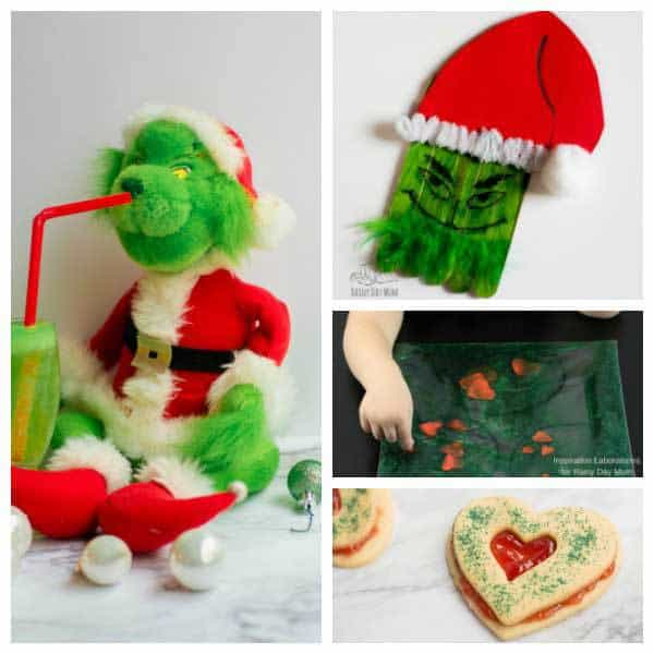 fantastic selection of how the grinch stole christmas book and movie inspired activities crafts - The Grinch Themed Christmas Decorations