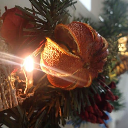 How to dry Whole Oranges for Christmas Decorations