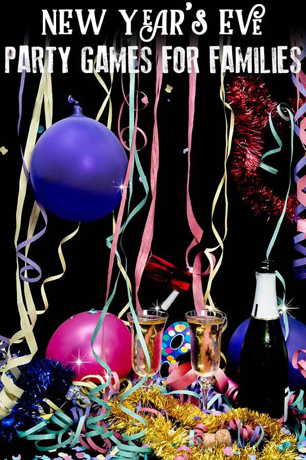 Even more ideas with New Year's Eve Party Games for Families