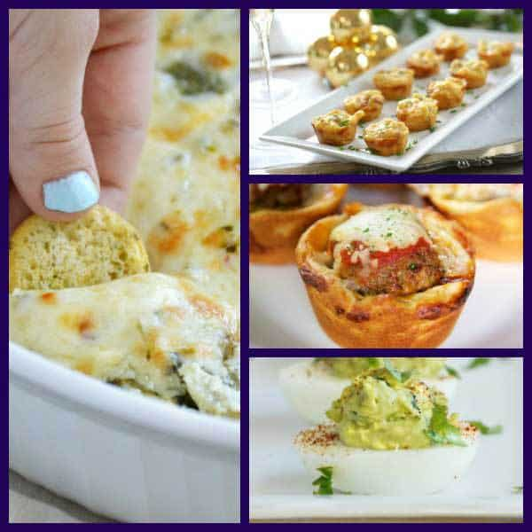 20+ Delicious Easy Appetisers for your Family Friendly  New Year's Eve Party