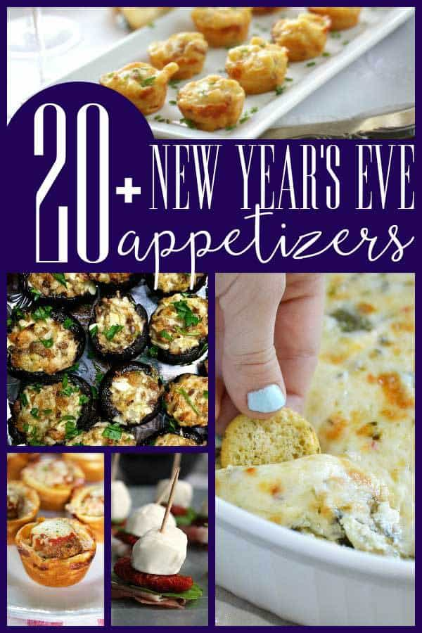 News Year's Eve Party Appetisers ideal for buffets