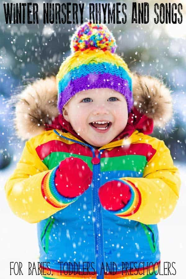 Winter Rhymes and Songs for Toddlers and Preschoolers