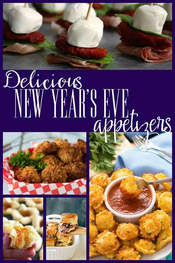 Over 20 delicious and easy appetisers ideal for your New Year's Eve party, prepare ahead of time and sit and enjoy countdown as you nibble on some of his selection of perfect party foods.