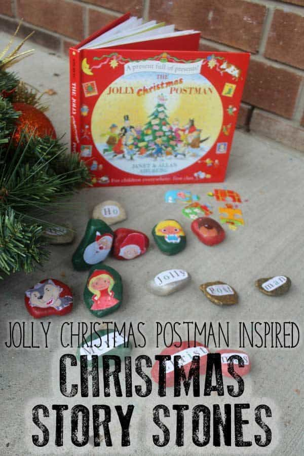 Hands-On Early Literacy Activity Inspired by the Jolly Christmas Postman