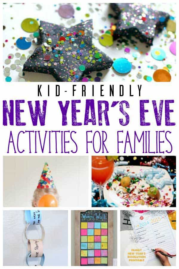 Countdown to the New Year with your kids with these activities that are kid-friendly and a perfect way to celebrate New Year's Eve together as a family.