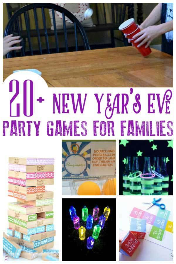 Fun New Year's Eve Party Games for the Whole Family to ...
