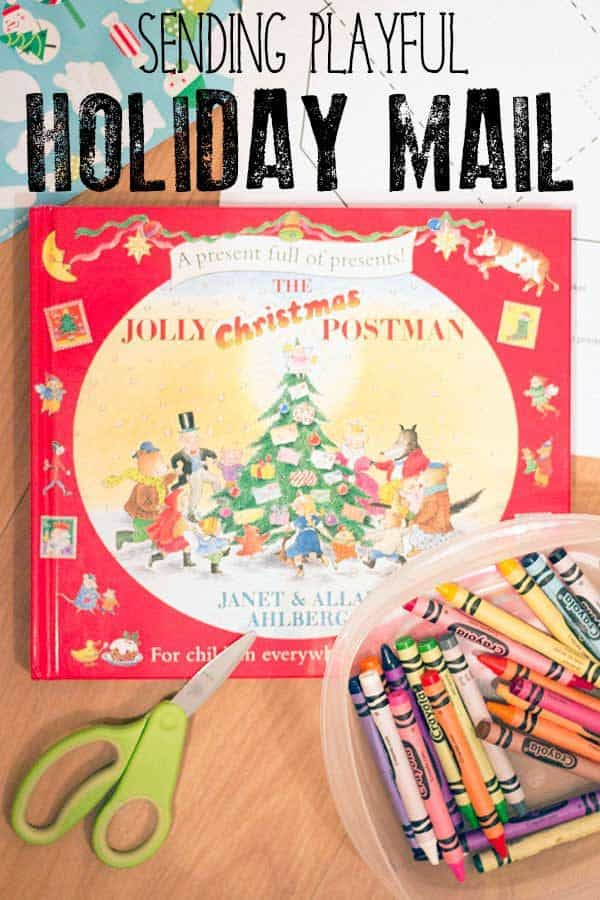 Sending Playful Holiday Mail With The Jolly Christmas Postman