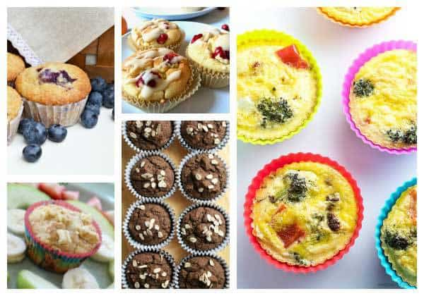 selection of breakfast muffins for kids to enjoy