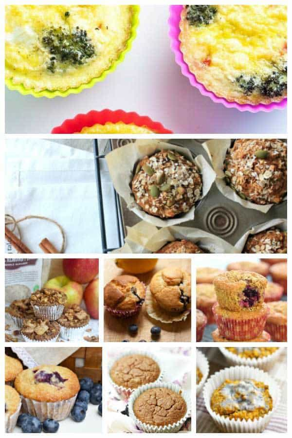 favourite kids healthy breakfast muffins to enjoy with the family