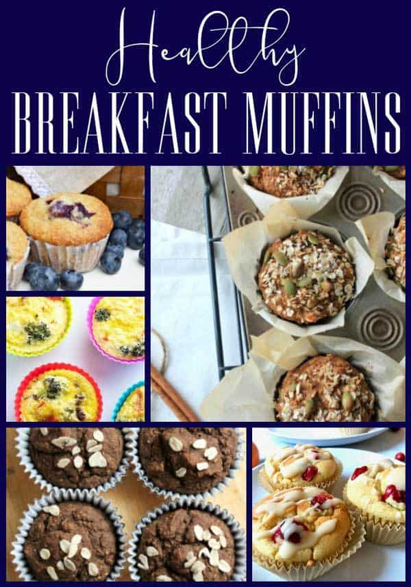 Tasty healthy breakfast muffins for families