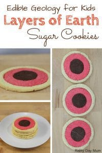 Layers of the Earth Sugar Cookies