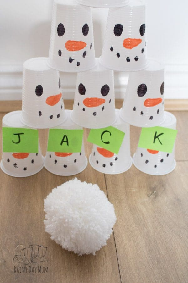 stacking snowmen cups