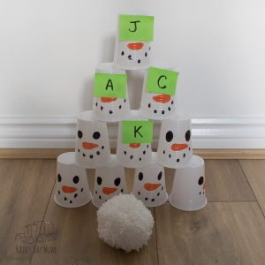 fun indoor snowball fight name game for preschoolers
