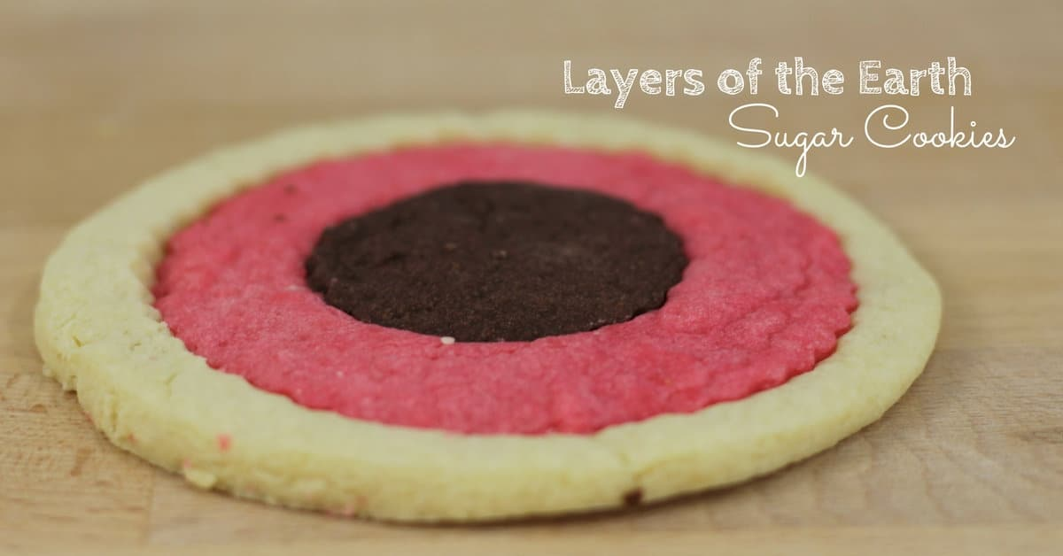 Layers Of The Earth Sugar Cookies To Make With Kids