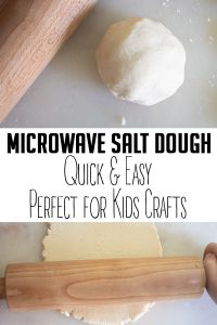 quick and easy microwave salt dough recipe ideal for kids crafts
