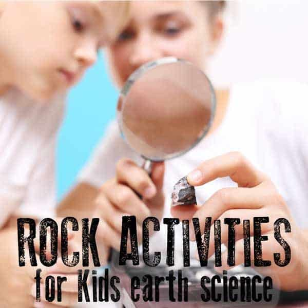 Rock Activities for starting to learn about Earth Science and Geology