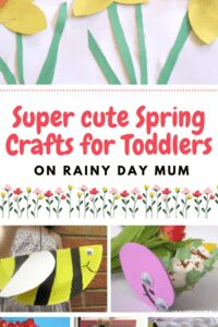 super cute spring crafts for toddlers